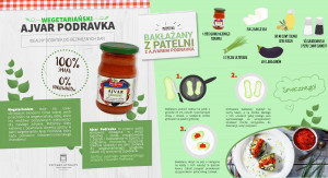 Podravka przygotowała pastę – dodatek do dań wegetariańskich Ajvar Podravka