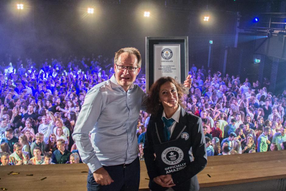 Żołądkowa de Luxe trafiła do księgi rekordów Guinnessa