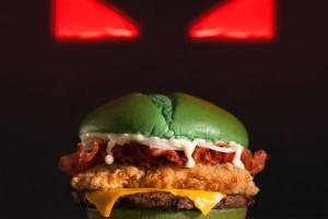 Burger King stworzył burgera na Halloween. Będą po nim koszmary