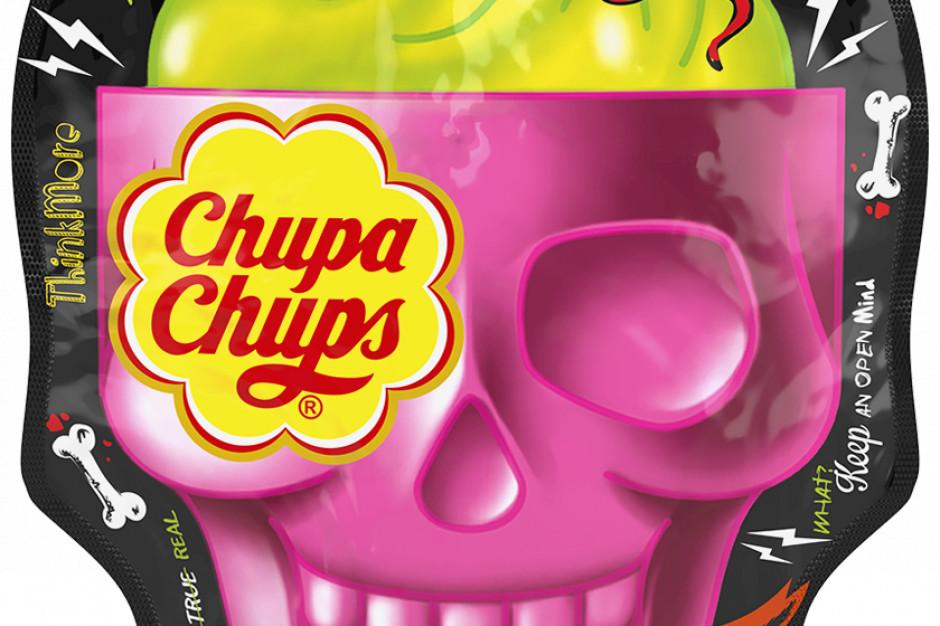 Perfetti Van Melle promuje na Helloween lizaki Chupa Chups 3D w kształcie czaszki