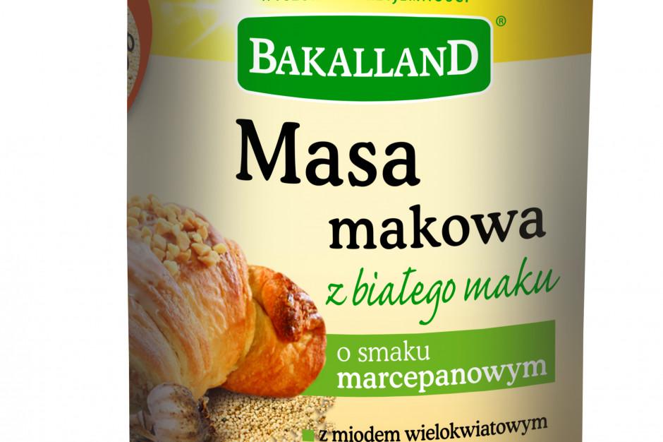 Bakalland rozszerza portfolio o masę makową z białego maku