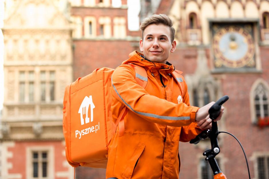 Darmowe dostawy rowerowe Pyszne.pl wkraczają do Wrocławia