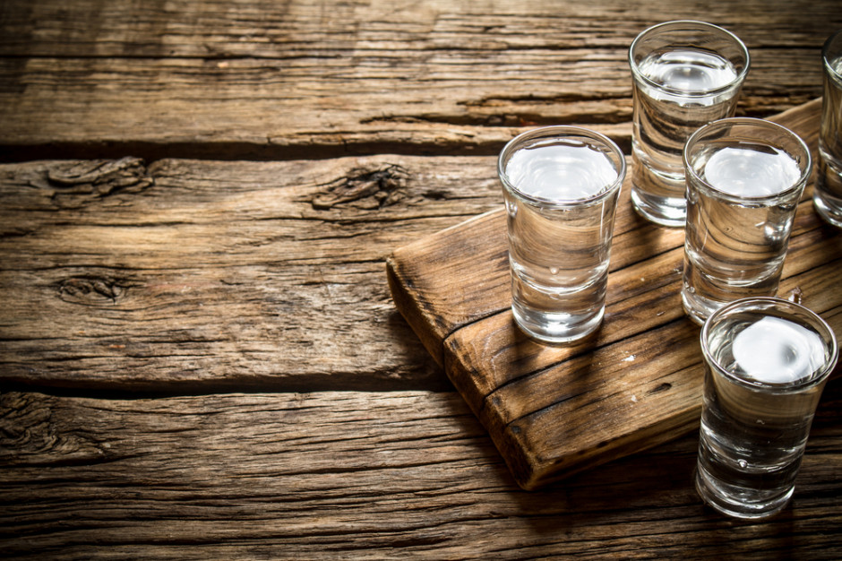 Produkcja wódki przyspieszyła w ciągu trzech kwartałów 2018