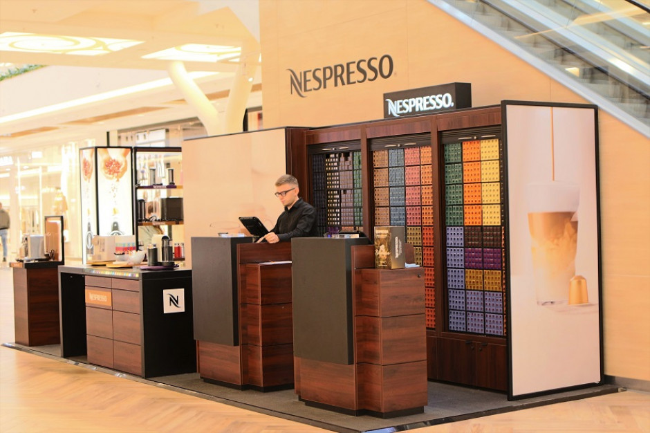 Nowy pop – up Nespresso w Atrium Promenada już otwarty