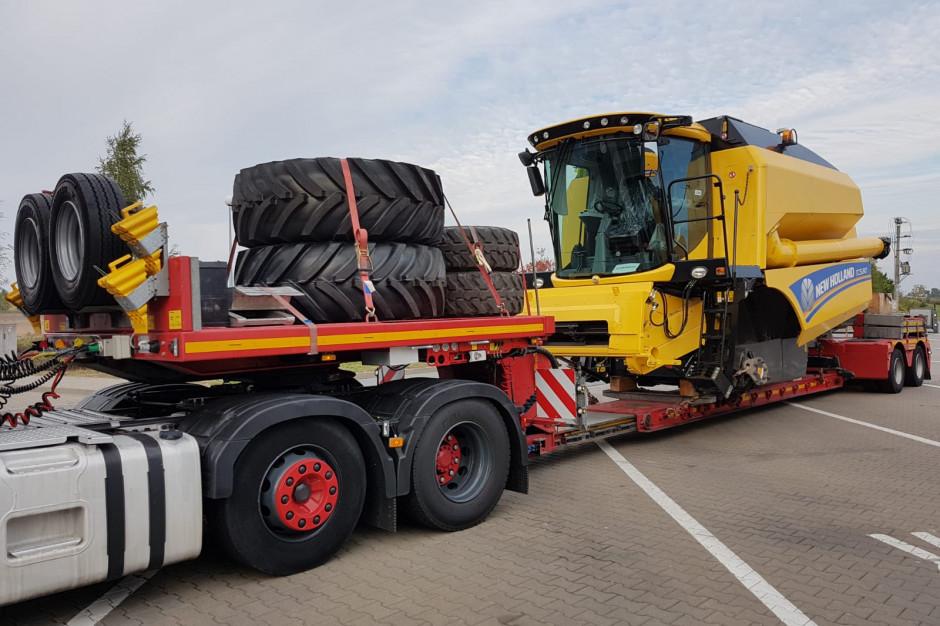 Fracht FWO Polska zrealizował ekspresową dostawę kombajnów zbożowych z Polski do Dani
