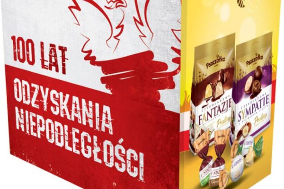 FC Pszczółka wprowadza limitowaną edycję kuferków słodyczy na 100 lat Niepodległości