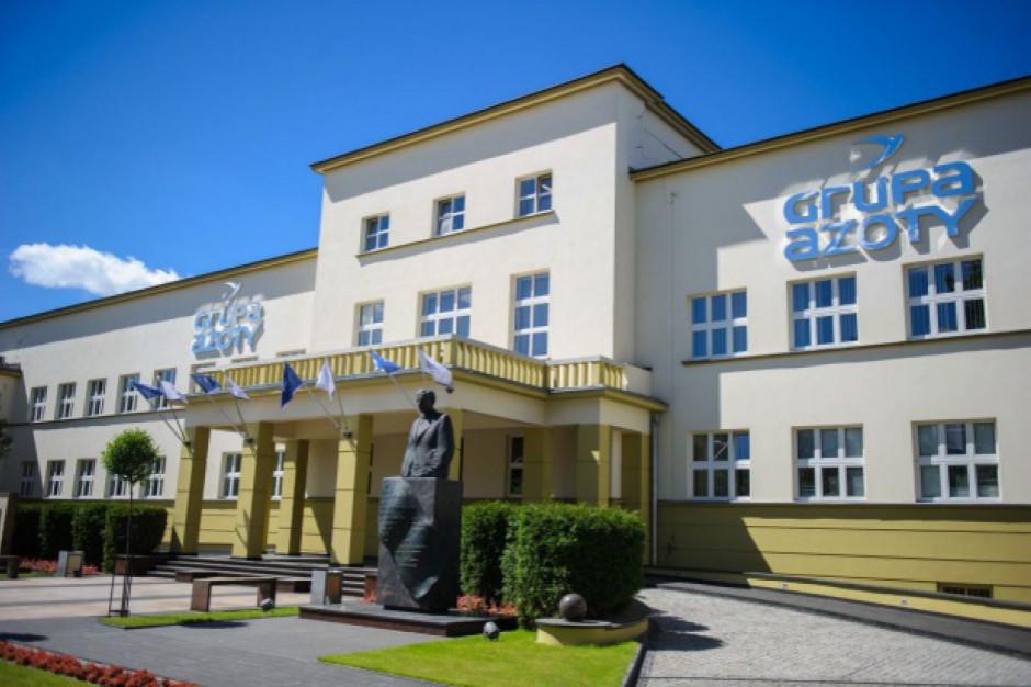 Strata Grupy Azoty w III kw. wyniosła 116,8 mln zł, zgodnie z szacunkami