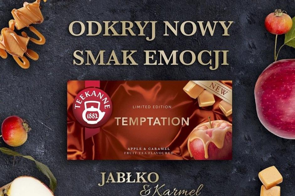 Herbatki Temptation nowością w portfolio Teekanne