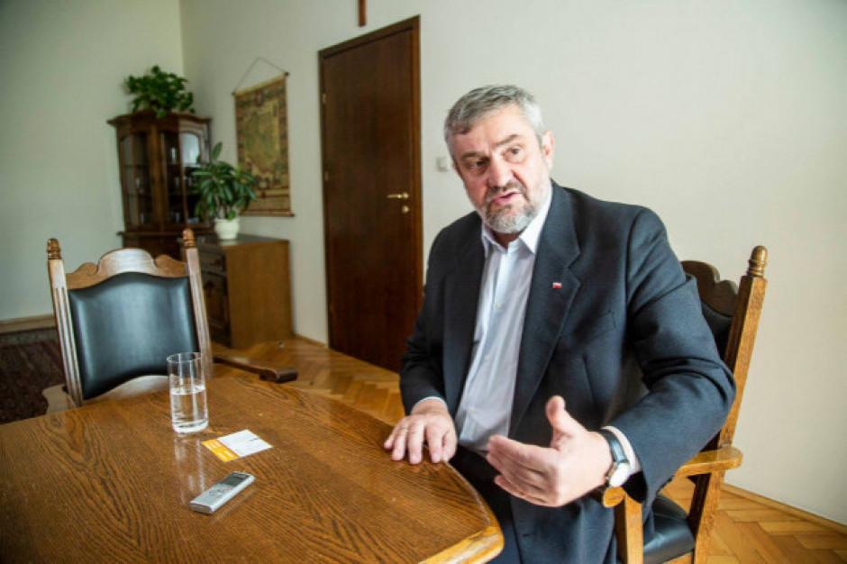 Ardanowski: Polska nie może ścigać się z największymi producentami żywności na świecie