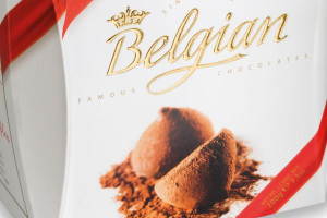 Belgia. Jednym z najbardziej rozpoznawalnych jej symboli jest czekolada