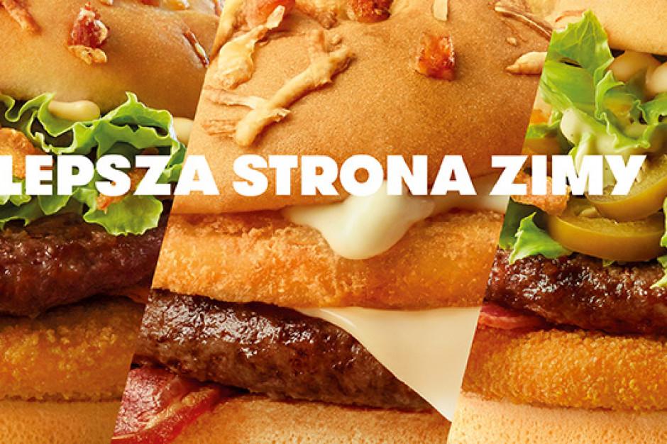 McDonald's ponownie wprowadza Burgera Drwala