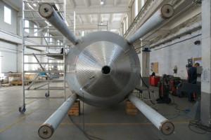 """Zdjęcie numer 3 - galeria: Browar Pinta instaluje już urządzenia w nowym zakładzie; warzelnia """"przyjedzie"""" w lutym (zdjęcia)"""