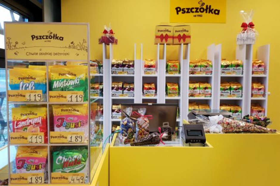 Fabryka Cukierków Pszczółka otwiera sklep firmowy w Lublinie i sklep internetowy