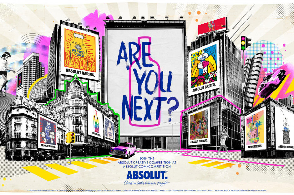 Absolut startuje z akcją Absolut Creative Competition
