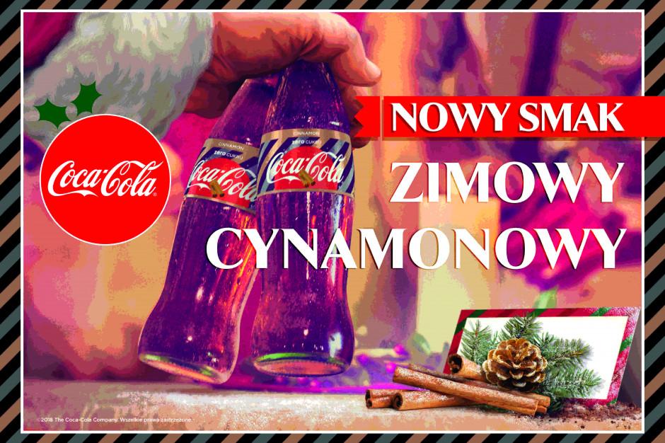 Coca-Cola o cynamonowym smaku - nowość na święta