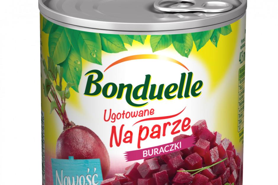 Bonduelle wprowadza Buraczki Ugotowane na parze