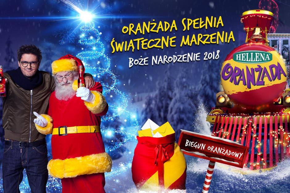Oranżada Hellena wystartowała ze świąteczną kampanią reklamową