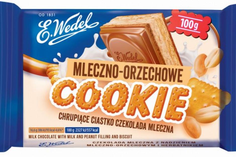 E.Wedel wprowadza mniejszy format czekolad Cookie