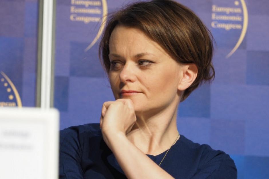 Emilewicz: Polska gospodarka ma się dobrze, cieszy wzrost inwestycji