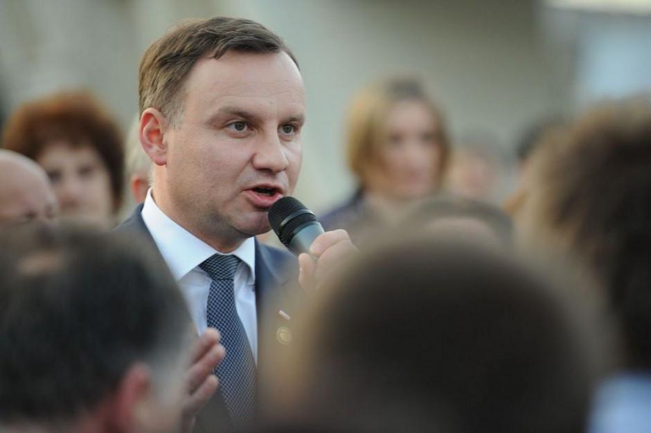 Prezydent: Chcemy żeby polska żywność dalej pobijała światowe rynki