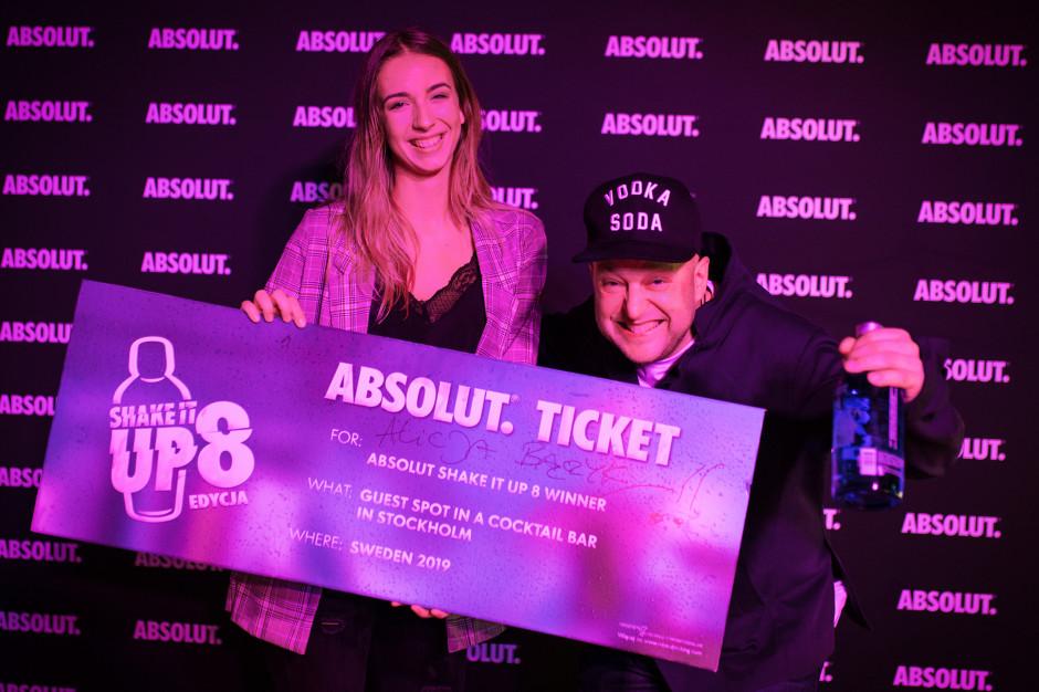 Alicja Bączyk, barmanka z Krakowa, zwycięzcą Absolut Shake it Up 8