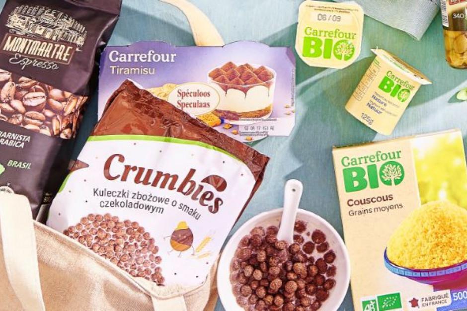 Carrefour zmniejsza ilość plastiku w opakowaniach marki własnej