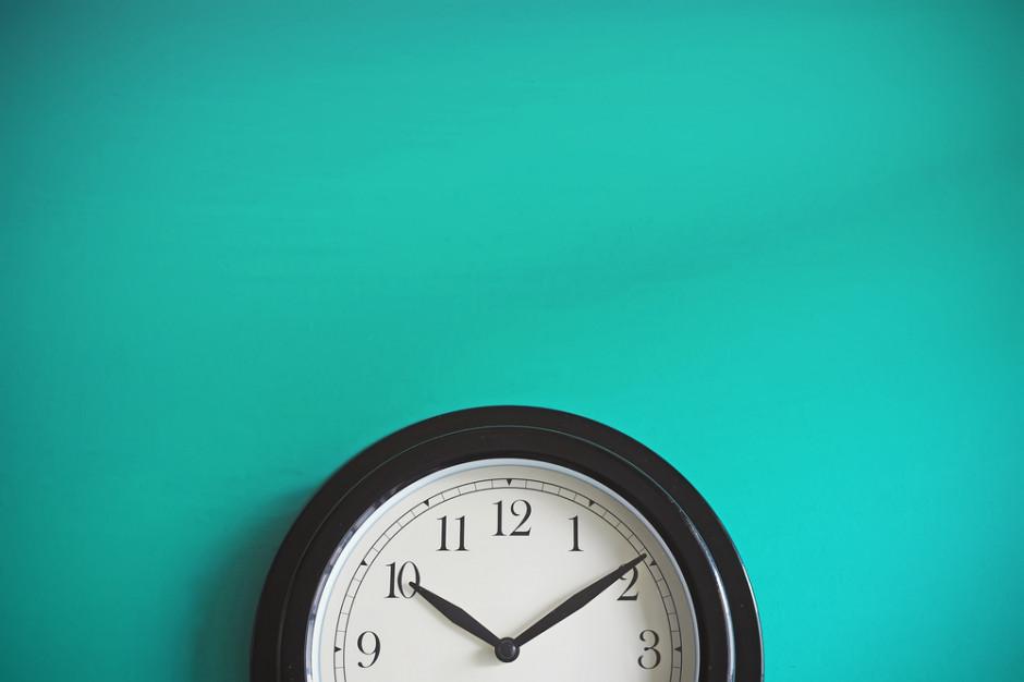 Zmiana czasu nie zniknie za szybko