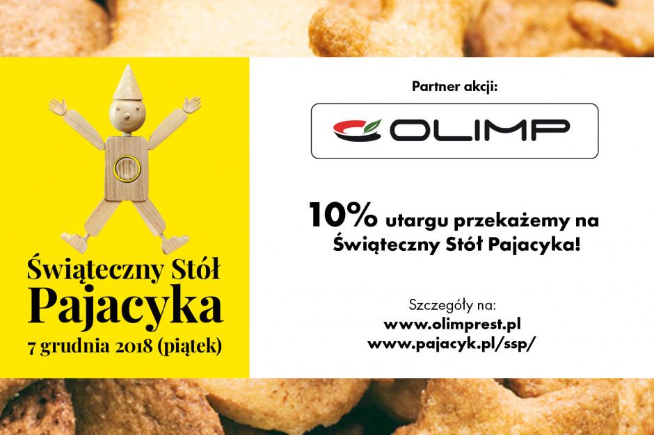 Restauracje Olimp dołączają do akcji Świąteczny Stół Pajacyka