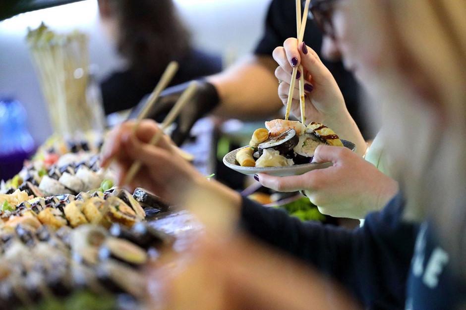Koku Sushi oferuje Lunch bufet sushi