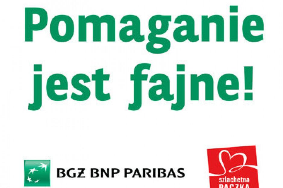 Bank BGŻ BNP Paribas partnerem strategicznym projektu Szlachetna Paczka