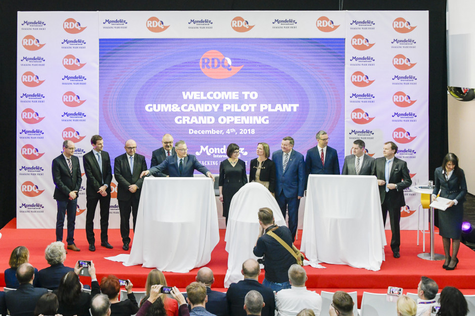 Mondelez  wydał łącznie 23 mln USD na Centrum Badań, Rozwoju i Jakości pod Wrocławiem (zdjęcia)
