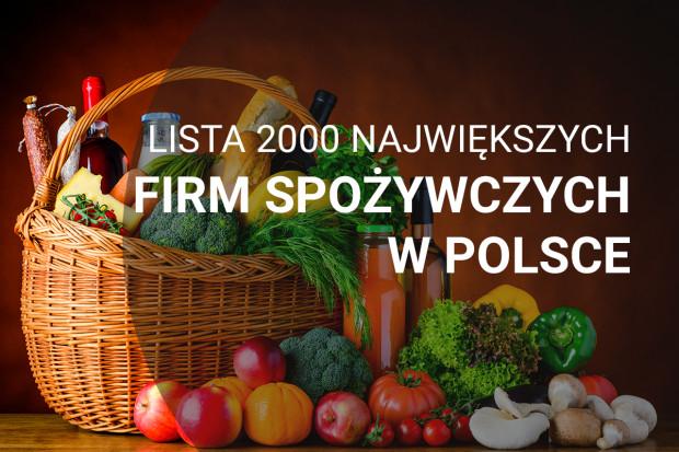 Lista 2000 największych firm spożywczych w Polsce - edycja 2018