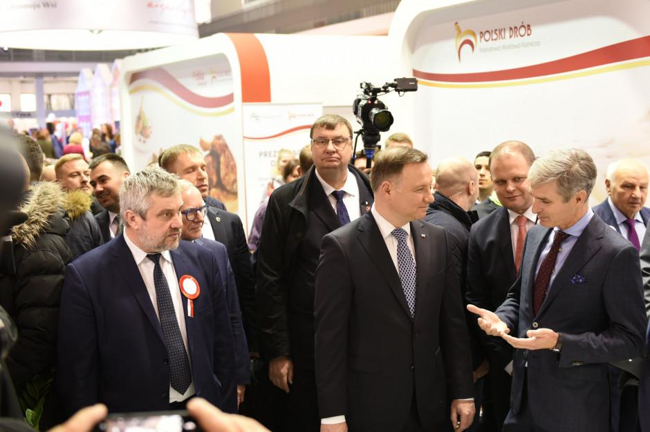 Prezydent RP odwiedził stoisko KRD-IG podczas Narodowej Wystawy Rolniczej