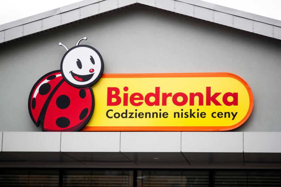 Biedronka ze sklepem w miejscowości, w której jest centrum dystrybucyjne sieci