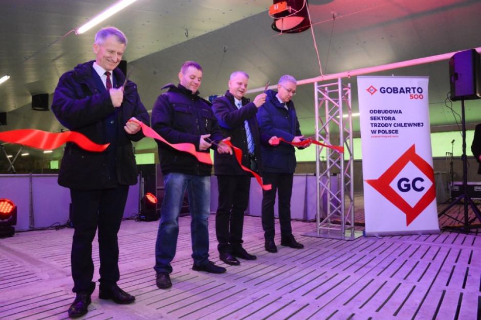 Gobarto 500: Otwarcie budynku inwentarskiego w Wielkopolsce