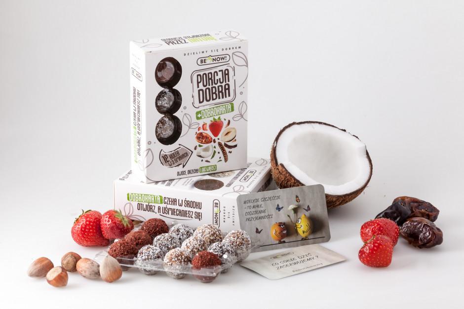 Marka Be Now wprowadza na rynek nową linię przekąsek, zdrowszą alternatywę dla słodyczy