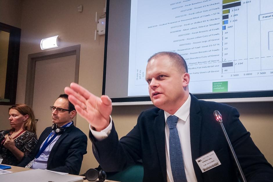 Łukasz Dominiak przewodniczącym Grupy Dialogu Społecznego ds. Drobiu i Jaj przy Komisji Europejskiej