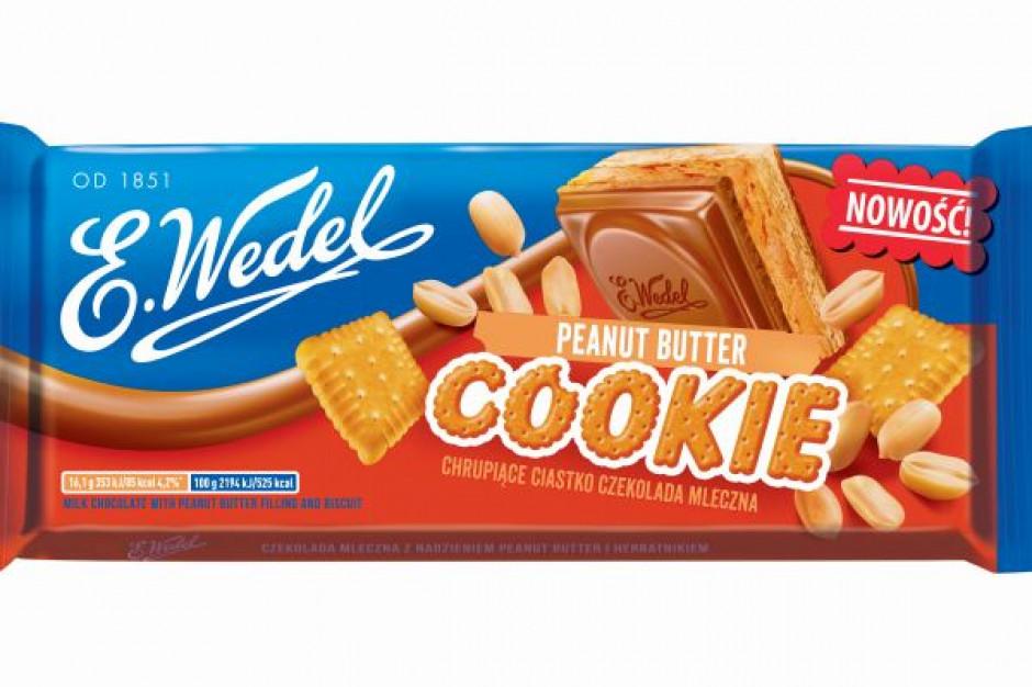 Nowa czekolada Cookie Peanut Butter od E.Wedel