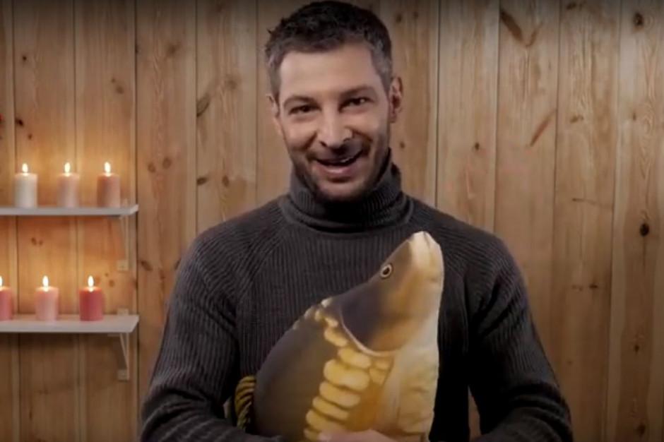 Leszek Stanek w spocie zachęcającym do rezygnacji z kupowania żywych ryb