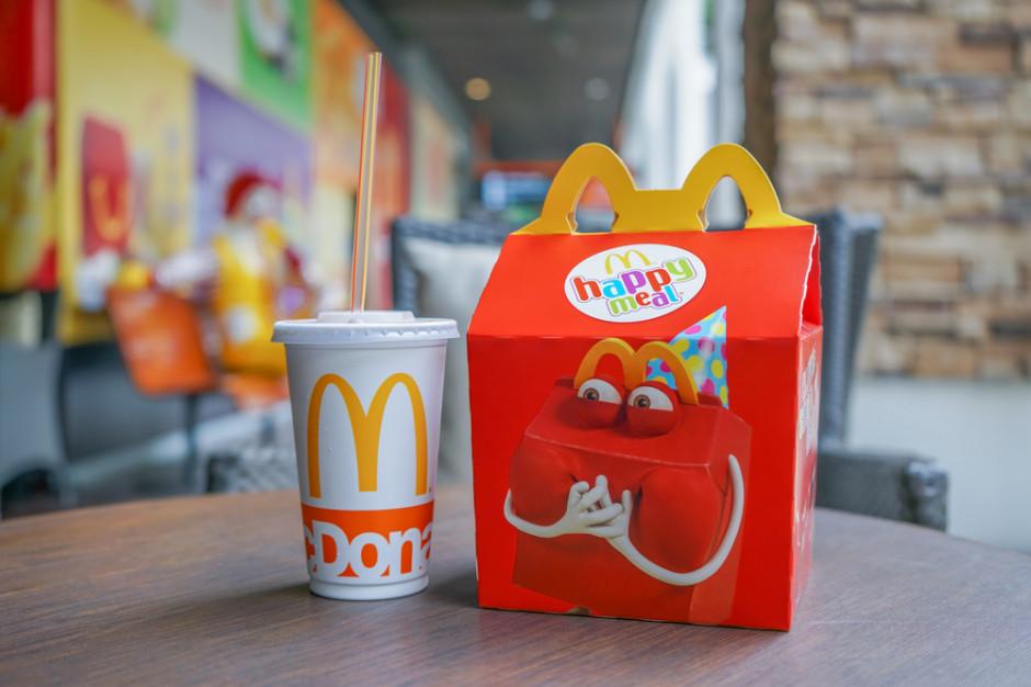 McDonald's zmienia ofertę Happy Meal