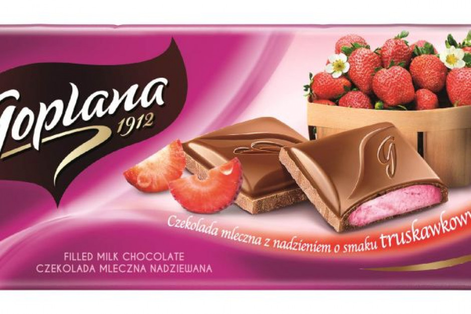 Goplana rozbudowuje portfolio czekolad o dwa nowe smaki