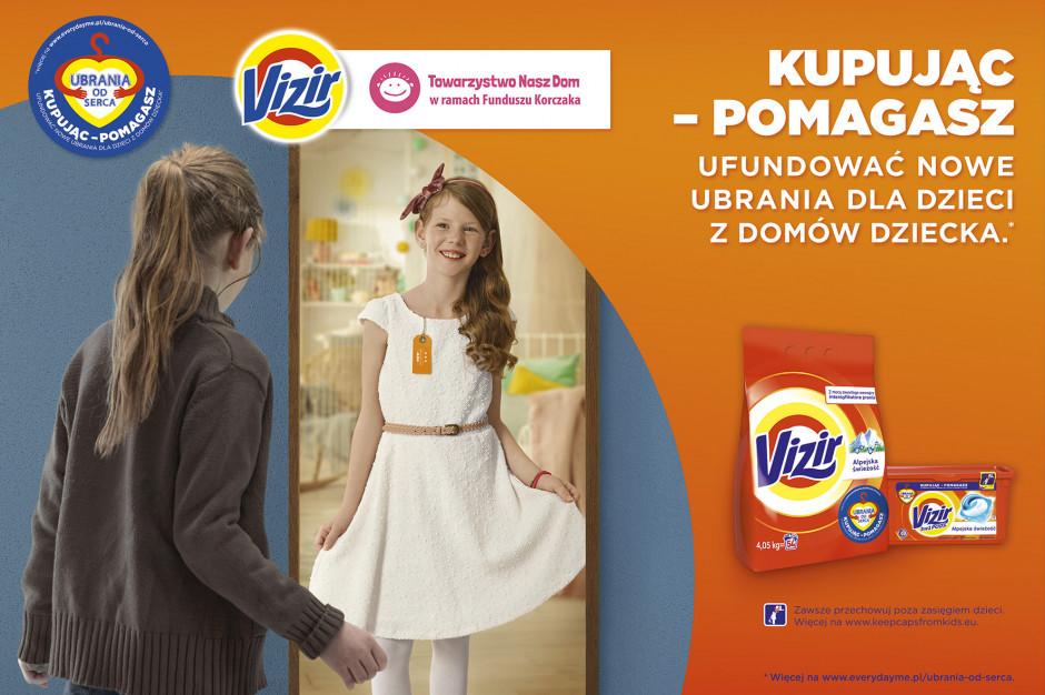 """Vizir i Towarzystwo Nasz Dom rozpoczynają 2. edycję kampanii """"Ubrania od serca"""""""