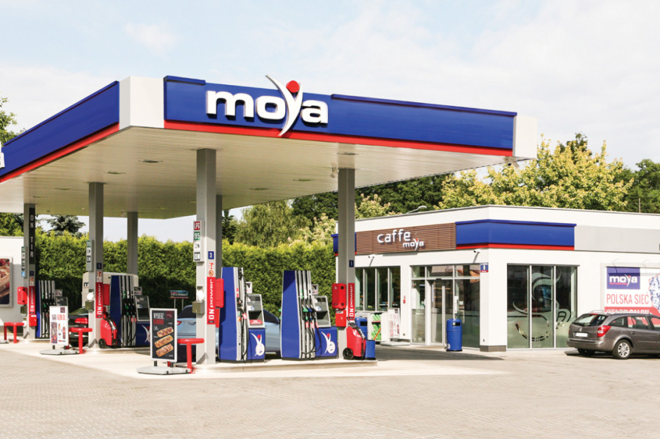 Moya z ponad 200 stacjami paliw w Polsce. Do końca 2023 r. ma pojawić się 350