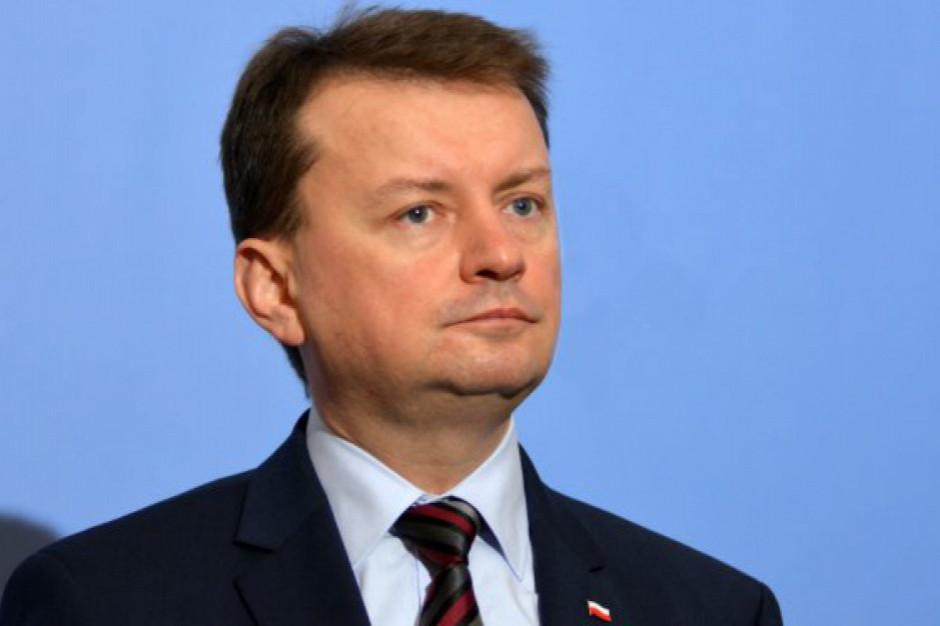 Błaszczak: Brak akceptacji dla umowy w sprawie brexitu niekorzystny dla Polski