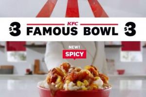 KFC podąża za trendami i proponuje kurczaka w... miskach