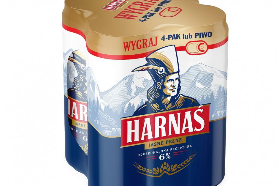 Carlsberg Polska przeprowadza rebranding marki Harnaś. Nowy smak, nowe opakowanie
