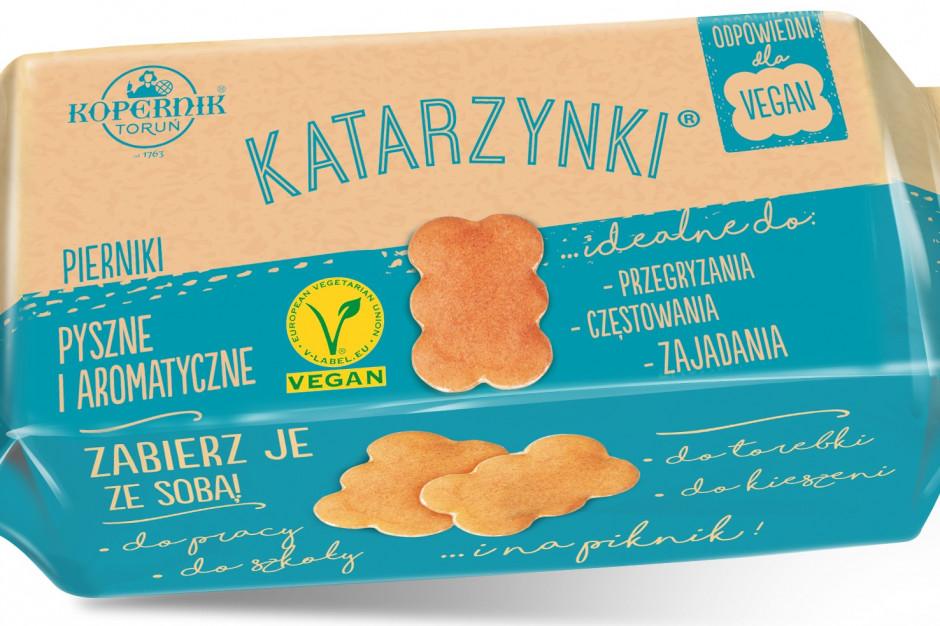 Marka Toruńskich Pierników Kopernik otwarta na wegan, ma dla nich kilkanaście produktów