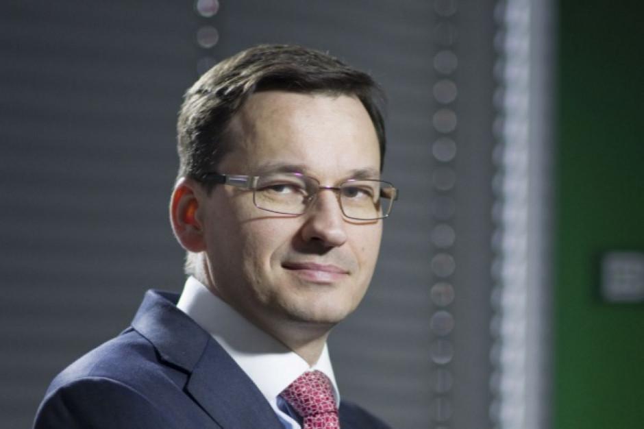 Morawiecki: W ciągu 10-12 lat na inwestycje kolejowe przeznaczymy 100 mld zł