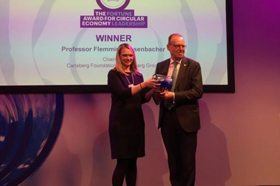 Doradca rządu duńskiego i przewodniczący rady nadzorczej Carlsberg Group nagrodzony w Davos