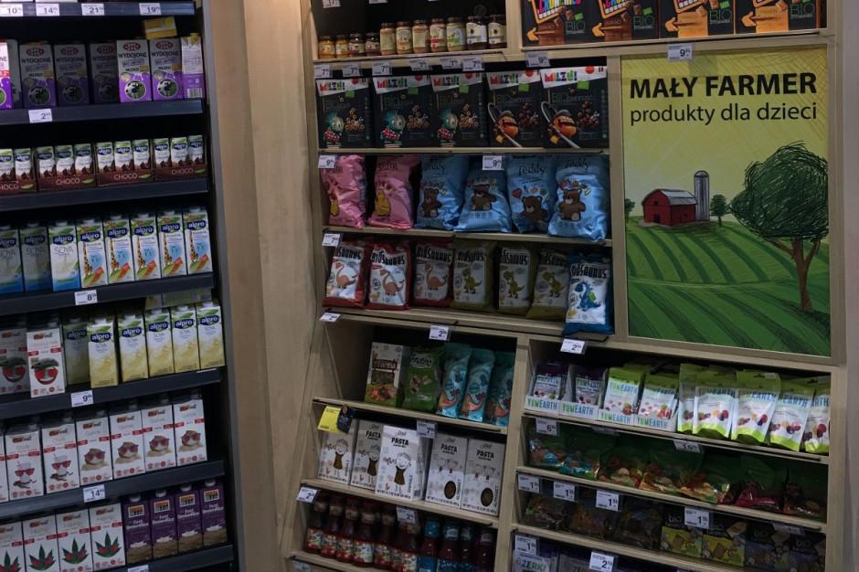 Carrefour uruchomił półki dla dzieci z produktami ekologicznymi